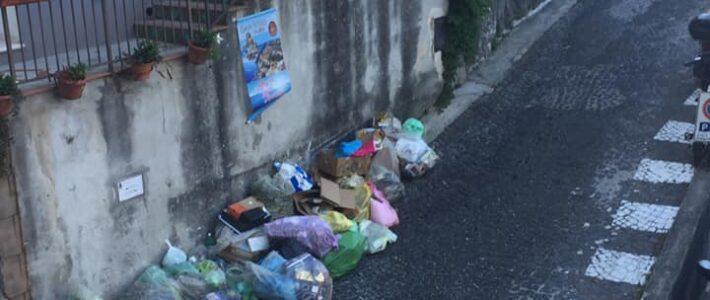 Le inevitabili conseguenze della raccolta dei rifiuti